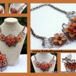 Fall_Statement_Necklace_and_Cuff_with_Lucite_Flowers