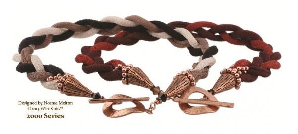 """18"""" Braided WireKnitZ Necklace"""
