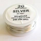 Non-Tarnish Silver-25ft-20NTS25
