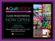American Quilter's Society Show