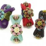Cynthia Rutlege - Jacobean Floral Bracelet